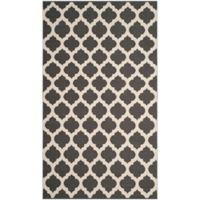 Safavieh Montauk 3' x 5' Zorah Rug in Dark Grey
