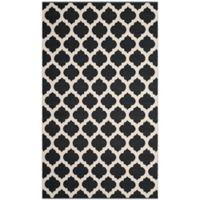 Safavieh Montauk 5' x 8' Zorah Rug in Black