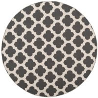 Safavieh Montauk 6' x 6' Zorah Rug in Dark Grey