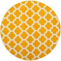 Safavieh Montauk 6' x 6' Zorah Rug in Yellow