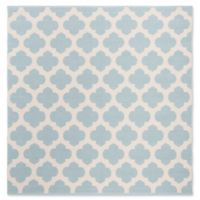 Safavieh Montauk 6' x 6' Zorah Rug in Light Blue
