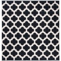 Safavieh Montauk 6' x 6' Zorah Rug in Black