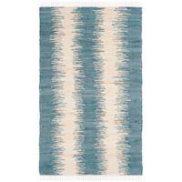Safavieh Montauk 3' x 5' Ryder Rug in Blue