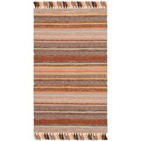 Safavieh Montauk 3' x 5' Madden Rug in Brown