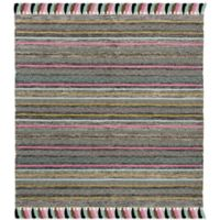 Safavieh Montauk 6' x 6' Madden Rug in Black