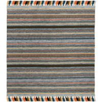Safavieh Montauk 6' x 6' Madden Rug in Blue