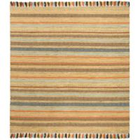 Safavieh Montauk 6' x 6' Madden Rug in Green