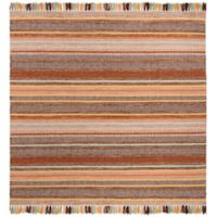 Safavieh Montauk 6' x 6' Madden Rug in Brown
