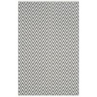 Safavieh Montauk 4' x 6' Monroe Rug in Grey