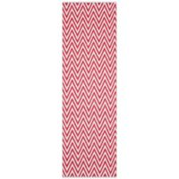"Safavieh Montauk 2'3"" x 7' Monroe Rug in Red"