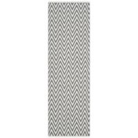 "Safavieh Montauk 2'3"" x 11' Monroe Rug in Grey"