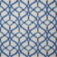 Nourison Sun & Shade Ogee Indoor/Outdoor 5'3 x 5'3 Area Rug in Blue