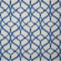 Nourison Sun & Shade Ogee 6'6 x 6'6 Indoor/Outdoor Area Rug in Blue
