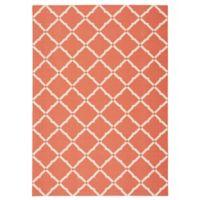 Nourison Home & Garden Geometric 7'9 x 10'10 Indoor/Outdoor Area Rug in Orange