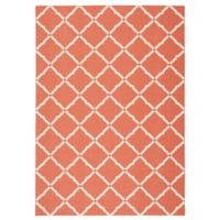 Nourison Home & Garden Geometric 10' x 13' Indoor/Outdoor Area Rug in Orange