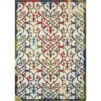 Nourison Home & Garden Trellis 10' x 13' Area Rug in Multi