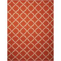 Nourison Home & Garden Portico 27' x 45' Area Rug in Orange