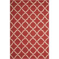 Nourison Home & Garden Portico 8' x 10'6 Area Rug in Red