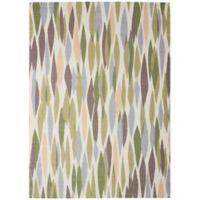 Nourison Waverly Sun & Shade 7'9 x 10'10 Indoor/Outdoor Area Rug in Violet