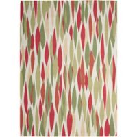 Nourison Waverly Sun & Shade 7'9 x 10'10 Indoor/Outdoor Area Rug in Blossom