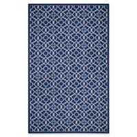 Nourison Sun & Shade Trellis 5'3 x 7'5 Indoor/Outdoor Multicolor Area Rug