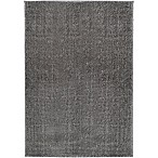 Home Dynamix Radiant 6'6 x 9'6 Shag Area Rug in Grey
