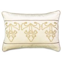 Beautyrest® Sandrine Embroidered Lumbar Throw Pillow in Cream