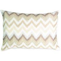 Beautyrest® Social Call Beaded Throw Pillow in Grey
