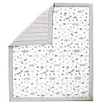 Wendy Bellissimo™ Mix & Match Reversible Cloud Moon Quilt in Grey/White