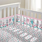 BreathableBaby® Owl Fun 3-Piece Classic Crib Bedding Set in Pink