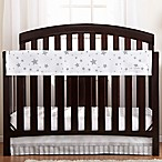 BreathableBaby® Railguard™ Star Light Crib Rail Cover in Grey