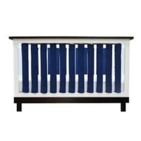 Go Mama Go Designs® 38-Pack Pure Safety Minky Vertical Crib Liners in Navy