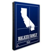 NFL Los Angeles Rams 16-Inch x 20-Inch Canvas Wall Art