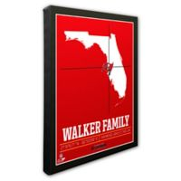 NFL Tampa Bay Buccaneers 16-Inch x 20-Inch Canvas Wall Art