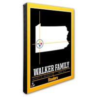NFL Pittsburgh Steelers 16-Inch x 20-Inch Canvas Wall Art