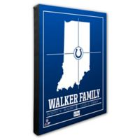 NFL Indianapolis Colts 20-Inch x 24-Inch Canvas Wall Art