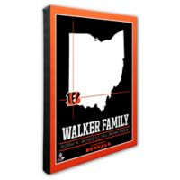 NFL Cincinnati Bengals 20-Inch x 24-Inch Canvas Wall Art