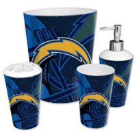 NFL Los Angeles Chargers 4-Piece Bath Set by The Northwest
