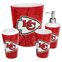 NFL Kansas City Chiefs 4-Piece Bath Set by The Northwest