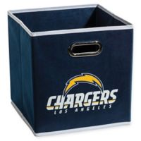 NFL Los Angeles Chargers Collapsible Storage Bin