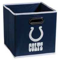 NFL Indianapolis Colts Collapsible Storage Bin