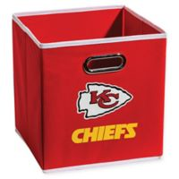NFL Kansas City Chiefs Collapsible Storage Bin