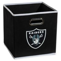 NFL Oakland Raiders Collapsible Storage Bin