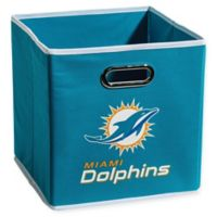 NFL Miami Dolphins Collapsible Storage Bin