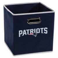 NFL New England Patriots Collapsible Storage Bin