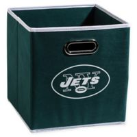 NFL New York Jets Collapsible Storage Bin