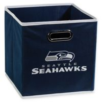 NFL Seattle Seahawks Collapsible Storage Bin