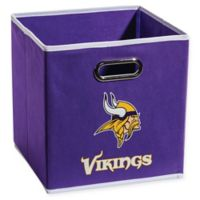 NFL Minnesota Vikings Collapsible Storage Bin