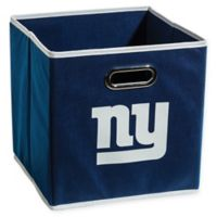 NFL New York Giants Collapsible Storage Bin