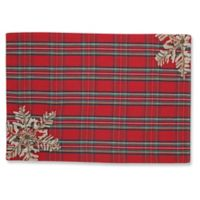Pillow Perfect Stuart Plaid Placemats in Red (Set of 2)